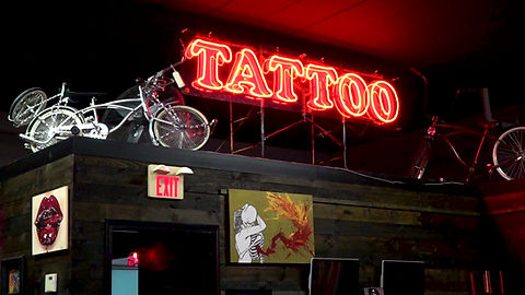 Business overview video featuring a local tattoo shop and its story produced by Eleven Seventeen Media