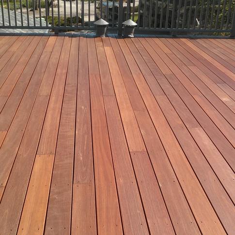 Hardwood Deck After