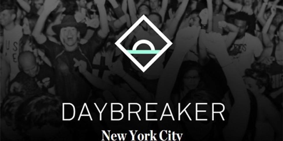 Daybreaker NYC // Metamorphosis
