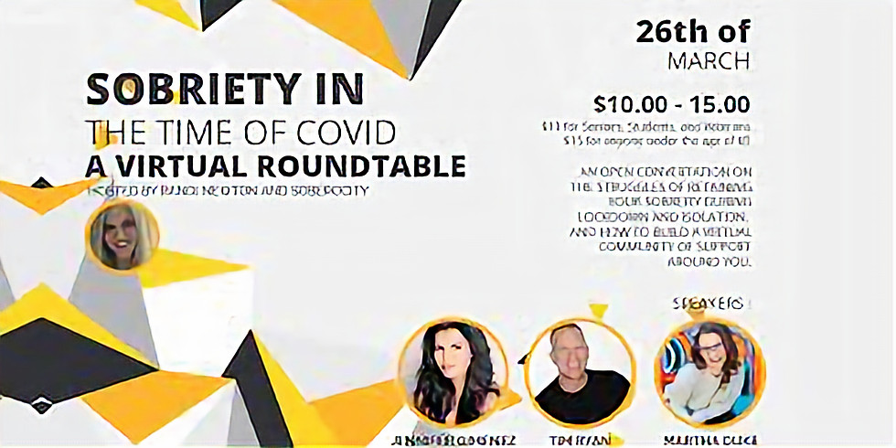 Virtual Panel: Sobriety in the Time of Covid