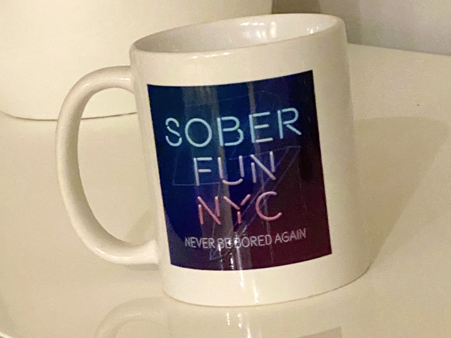 "Ceramic Mug ""Sober Fun NYC"""
