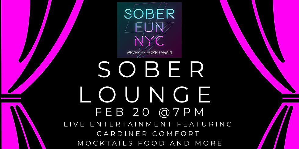 Sober Fun NYC  - Sober Lounge