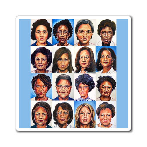 Sheroes Rise Magnets