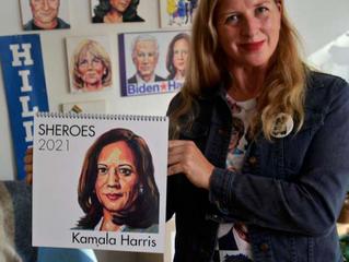 The 2021 Sheroes Calendar Featuring Vice President Elect Kamala Harris