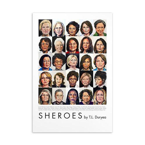 Sheroes  Postcard