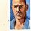Thumbnail: Kelly slater portrait painting