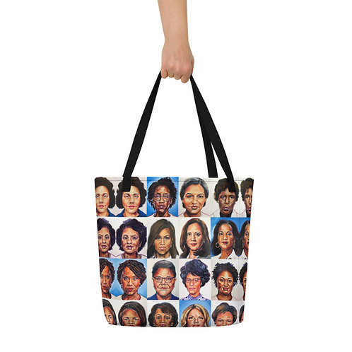 Sheroes Rise Beach Bag