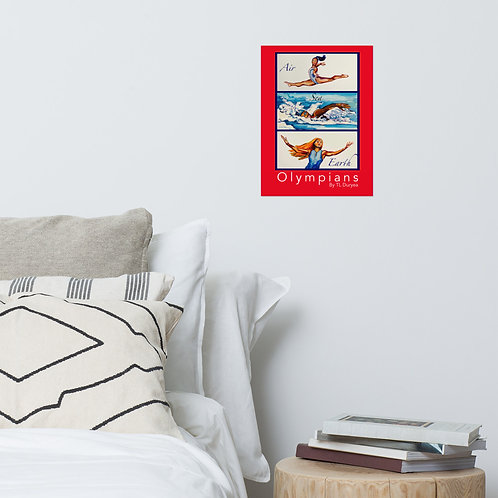 Olympians Poster