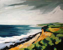 Study for Cliffs of Montauk