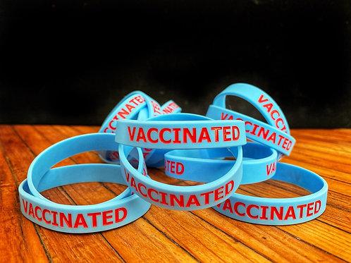 Vaccinated wrist band