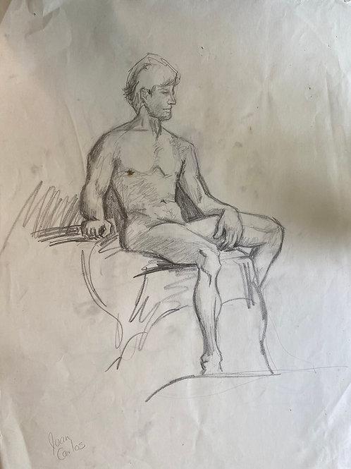 Sketch of Male Figure
