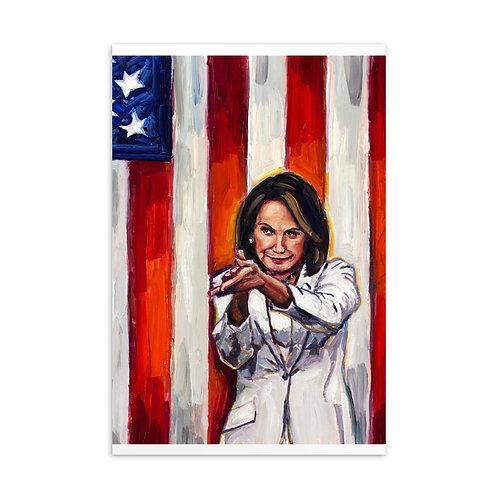 Speaker Pelosi Clap Postcard
