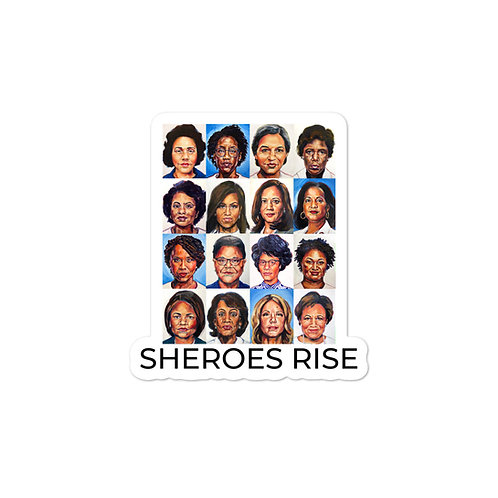 Sheroes Rise stickers