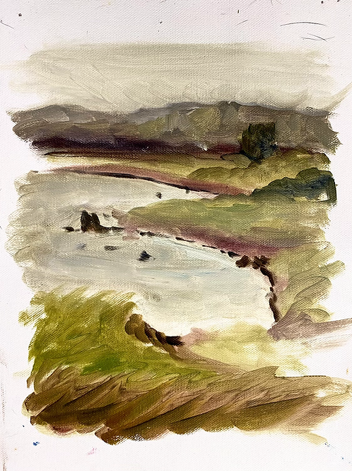 River painting study