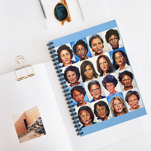 Sheroes Rise, Spiral Notebook - Ruled Line