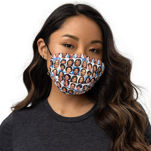 Sheroes Rise face mask