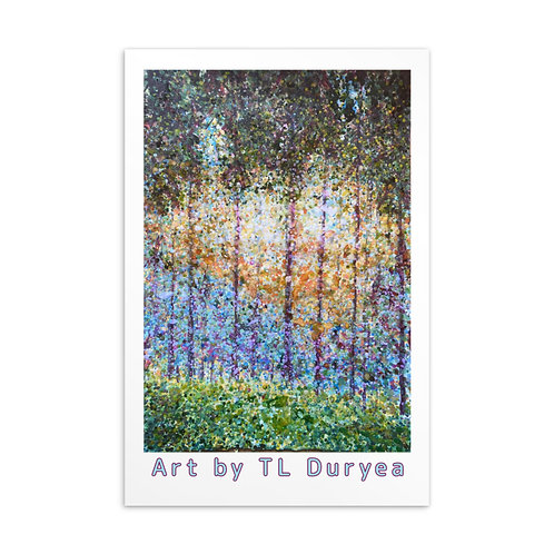 Woodland Postcard