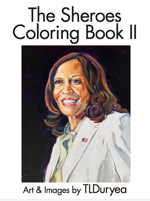 Kamala & Sheroes Coloring Book