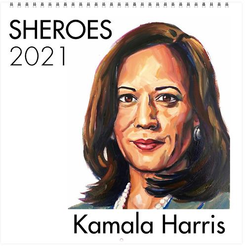 2021 Calendar - Kamala Harris