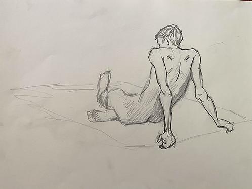 Seated Figure Study