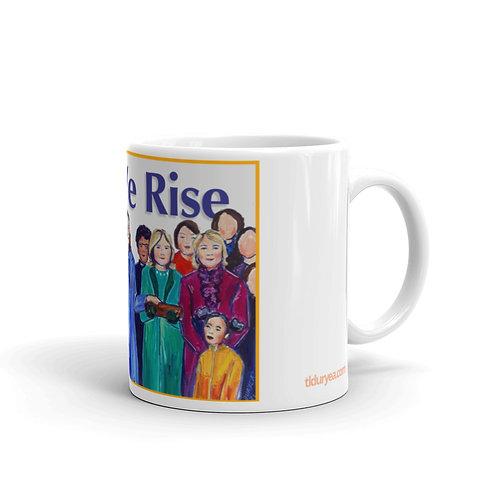 As We Rise Mug