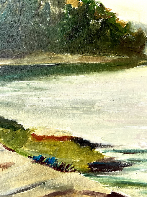 Waterscape painting
