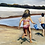 Thumbnail: Oil Painting of Kids at Beach