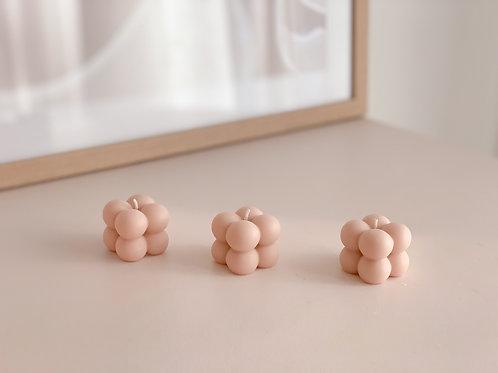 blush pink mini bubble