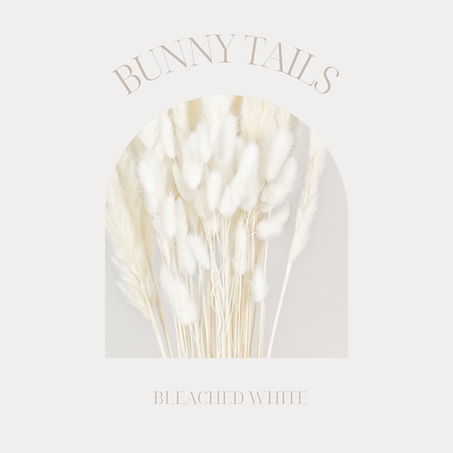 BUNNY TAILS WHITE