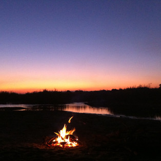 Letaba sunset.