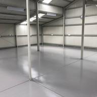 Industrial Epoxy Workshop Floor