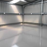 Industrial Epoxy Shed Floor