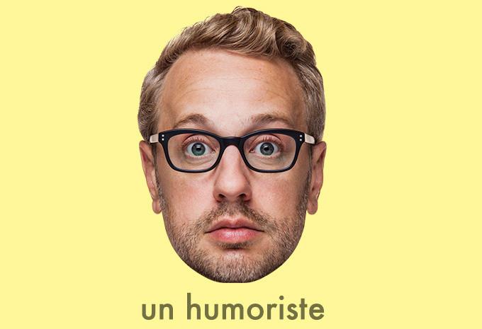 Martin Perizzollo, Humoriste