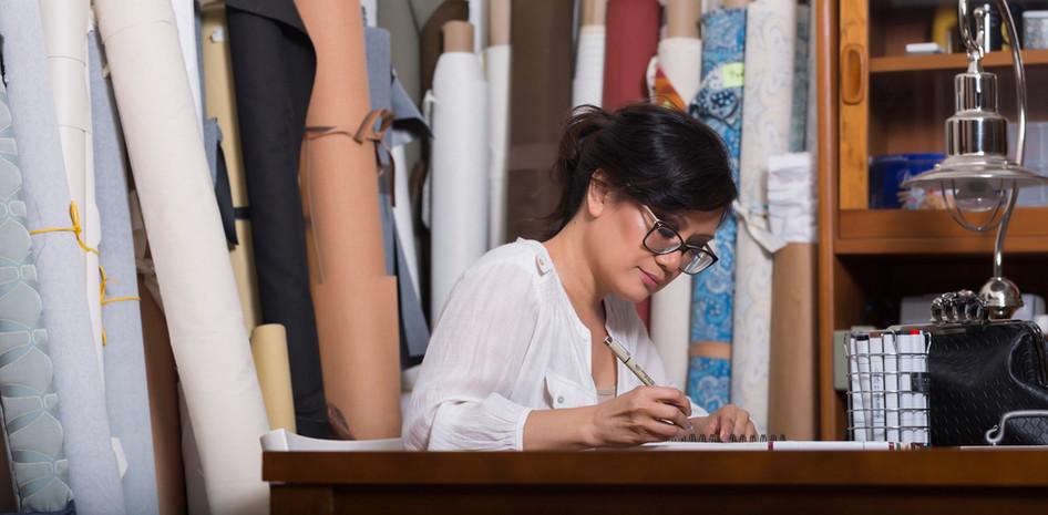 Célia Cruz, handbag designer - photo: Eva Blue