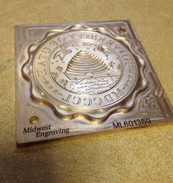 Metalay die Midwest Engraving Inc
