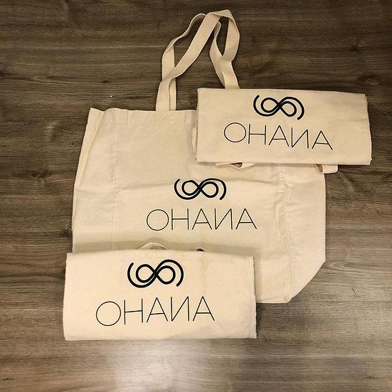 Trio de Ecobag Ohana