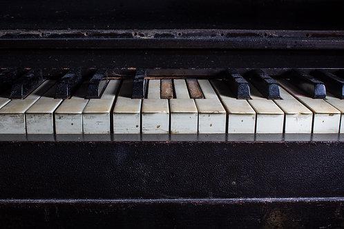Old Piano Still Makes Sound