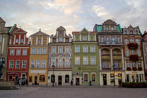 Poznan, Poland Town Square