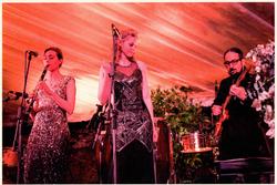 Performing in Portofino