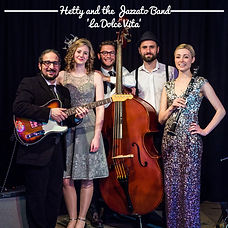 ALBUM COVER - HETTY AND THE JAZZATO BAND