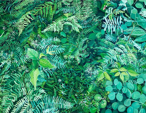 Understory, oil on canvas, 30_ x 40_, 20