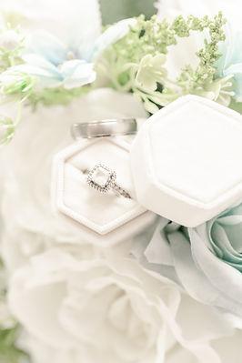 Bridal details. Wedding Rings