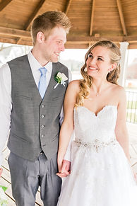 Romantic Bride and Groom Portraits. Th Chapel at Noel in Michigan