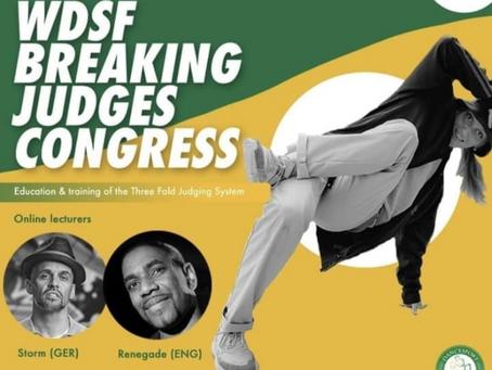 WDSF Judges Congress announcement