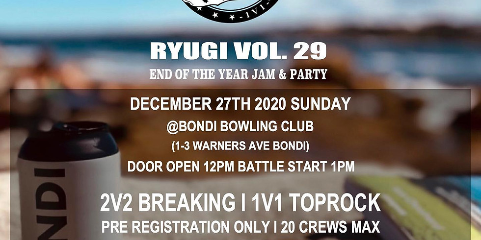 Ryugi vol.29 - End of the Year Jam & Party