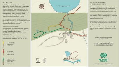 Kirkjubæjarklaustur, kort