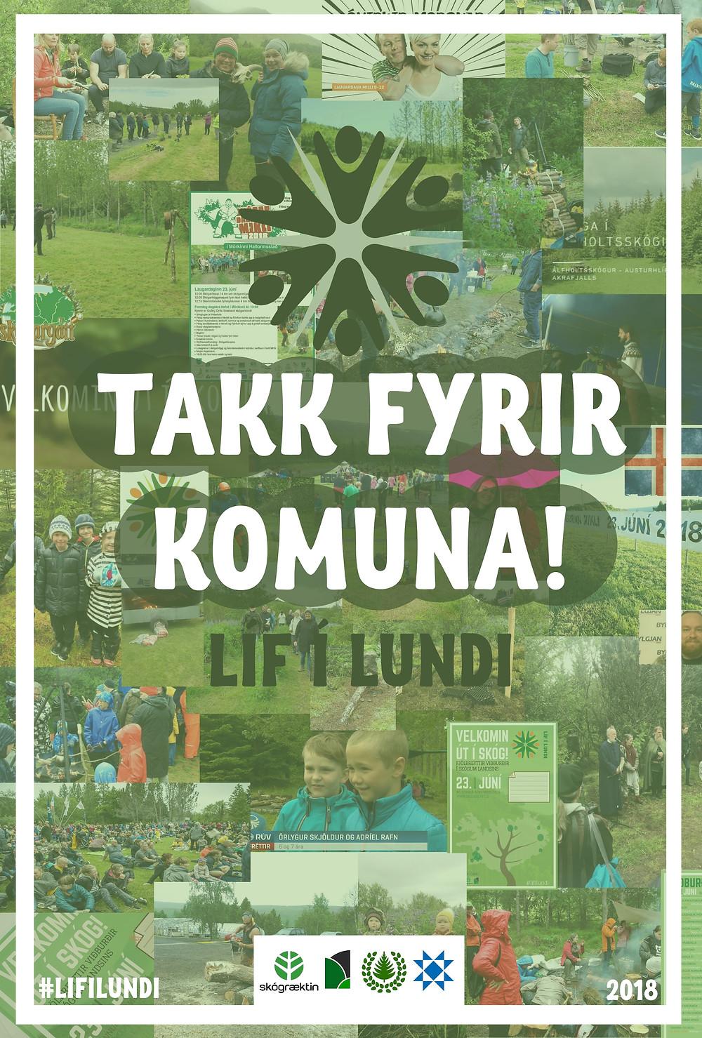 Líf í lundi - Takk fyrir komuna!