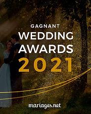 Hélène Vauché Photograpge Gagnante des Wedding Awards 2021 Par les mariés