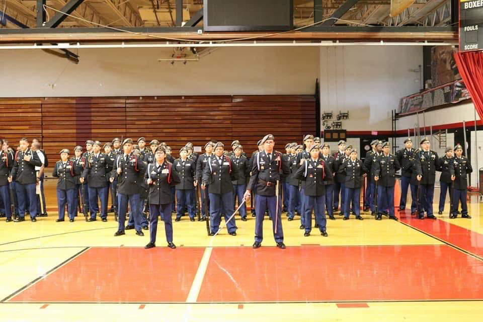 Lancer Battalion Drill Team