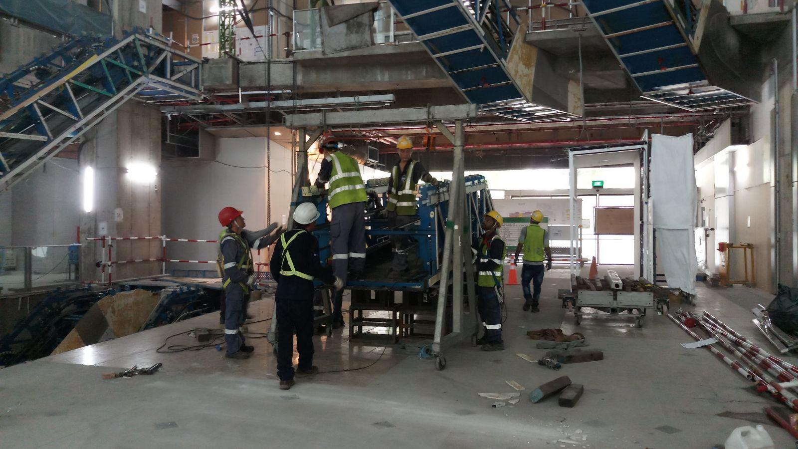 Distinct Global Escalator Remover